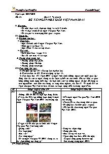 Giáo án Mĩ thuật Lớp 5 - Tiết 11 - Trường Tiểu học Trung Hải - Trần Cẩm Phong