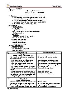 Giáo án Mĩ thuật Lớp 5 - Tiết 12 - Trường Tiểu học Trung Hải - Trần Cẩm Phong