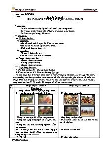 Giáo án Mĩ thuật Lớp 5 - Tiết 19 - Trường Tiểu học Trung Hải - Trần Cẩm Phong