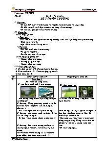 Giáo án Mĩ thuật Lớp 5 - Tiết 27 - Trường Tiểu học Trung Hải - Trần Cẩm Phong
