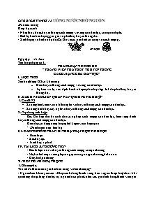 Giáo án GDCD Lớp 7 - Chủ điểm tháng 12 - Uống nước nhớ nguồn (Bản đầy đủ)