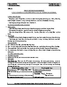 Giáo án GDCD Lớp 9 - Tiết 15 và 16 - Năm học 2013-2014