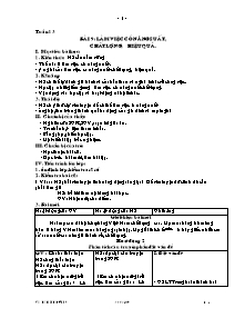 Giáo án GDCD Lớp 9 - Tuần 13 - Làm việc có năng suất, chất lượng, hiệu quả - THCS Tân Thanh - Năm học 2008-2009 - Hồ Minh Đương