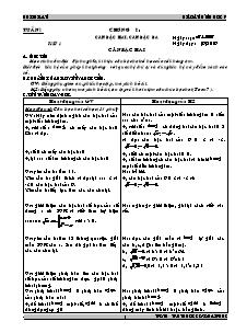 Giáo án Hình học Lớp 9 - Trường THCS Hải Phúc - Năm học 2007-2008 - Bùi Thị Lan