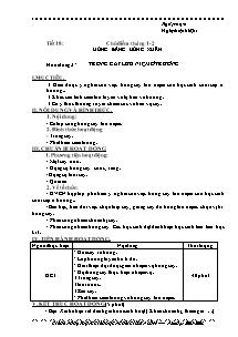 Giáo án hoạt động giáo dục ngoài giờ Lớp 9 - Tiết 18 - Chủ điểm tháng 12: Mừng đảng mừng xuân - Năm học 2007-2008