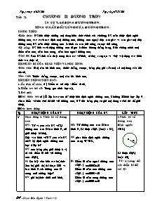 Giáo án Môn Toán Lớp 9 - Tiết 21 - Chương II: Đường Tròn - Năm học 2006-2007 - Phạm Quốc Bảo