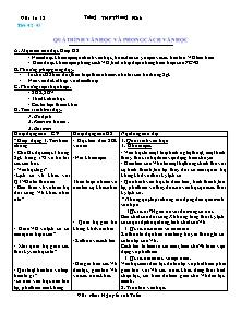 Giáo án Ngữ Văn Lớp 12 - Tiết 42 đến 45 - Nguyễn Anh Tuấn