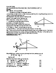 Giáo án Toán học Lớp 10 - Đề và hướng dẫn giải các bài toán khó của Lớp 10 - Năm học 2012-2013