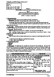 Giáo án Lịch sử Lớp 7 - Bản đẹp 2 cột - Năm học 2013-2014 - Bùi Phú Hưng