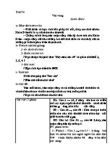 Giáo án Ngữ Văn Lớp 11 - Tiết 74 đến 83