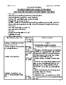Giáo án Ngữ Văn Lớp 12 - Tiết 1 đến 74