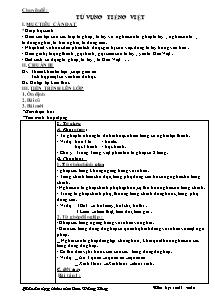 Giáo án Ngữ Văn Lớp 7- Chương trình cả năm - Năm học 2011-2012 - Cao Đăng Huy