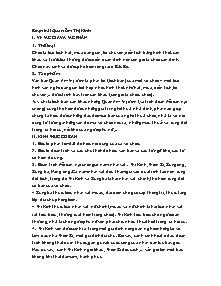 Giáo án Ngữ Văn Lớp 7 - Quan âm Thị Kính