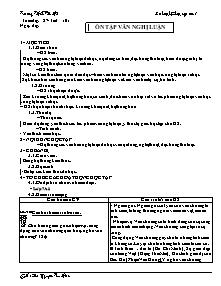 Giáo án Ngữ Văn Lớp 7 - Tiết 101 đến 104 - Nguyễn Thị Thu Hiền