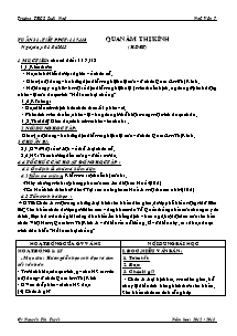 Giáo án Ngữ Văn Lớp 7 - Tiết 117, 118: Quan âm Thị Kính - Năm học 2012-2013 - Nguyễn Thị Tuyết