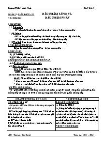Giáo án Ngữ Văn Lớp 7 - Tiết 122: Dấu chấm lửng và dấu chấm phẩy - Năm học 2012-2013 - Nguyễn Thị Tuyết