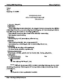 Giáo án Ngữ Văn Lớp 7 - Tuần 2 - Nguyễn Thị Kim Loan