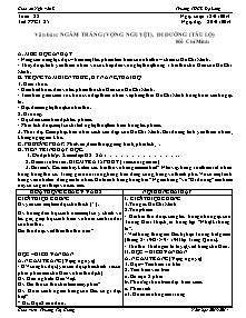 Giáo án Ngữ Văn Lớp 7 - Tuần 22 - Năm học 2013-2014 - Trương Thị Giang
