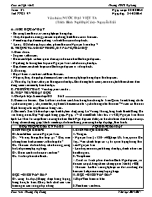 Giáo án Ngữ Văn Lớp 7 - Tuần 25 - Năm học 2013-2014 - Trương Thị Giang