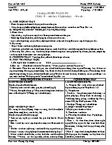 Giáo án Ngữ Văn Lớp 7 - Tuần 28 - Năm học 2013-2014 - Trương Thị Giang