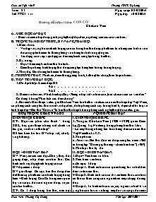 Giáo án Ngữ Văn Lớp 9 - Tuần 23 - Năm học 2013-2014 - Trương Thị Giang