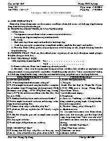Giáo án Ngữ Văn Lớp 9 - Tuần 24 - Năm học 2013-2014 - Trương Thị Giang