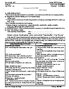 Giáo án Ngữ Văn Lớp 9 - Tuần 25 - Năm học 2013-2014 - Trương Thị Giang