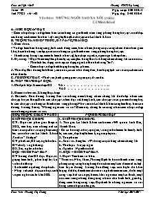 Giáo án Ngữ Văn Lớp 9 - Tuần 29 - Năm học 2013-2014 - Trương Thị Giang