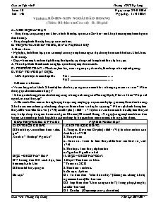 Giáo án Ngữ Văn Lớp 9 - Tuần 30 - Năm học 2013-2014 - Trương Thị Giang