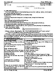 Giáo án Ngữ Văn Lớp 9 - Tuần 31 - Năm học 2013-2014 - Trương Thị Giang