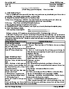 Giáo án Ngữ Văn Lớp 9 - Tuần 32 - Năm học 2013-2014 - Trương Thị Giang