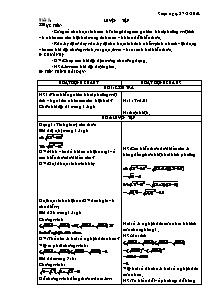 Giáo án Toán học Lớp 9 - Tiết 5 và 6 - Năm học 2010-2011