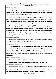 Sáng kiến kinh nghiệm: Một số biện pháp nhằm hạn chế lỗi trong bài làm văn của học sinh lớp 11A4 trường THPT số 1 Bảo Yên